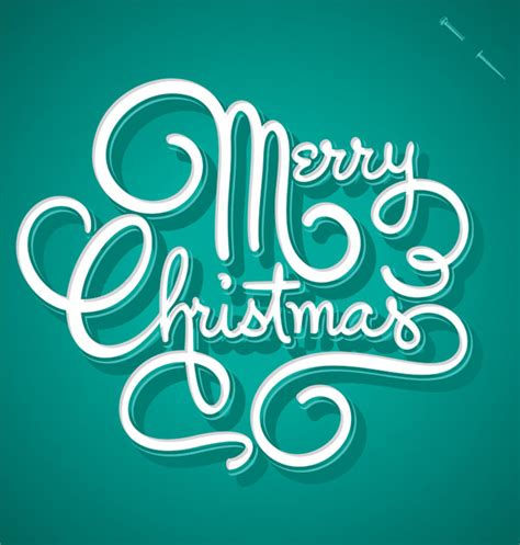 30 creative christmas typography designs for your greeting cards