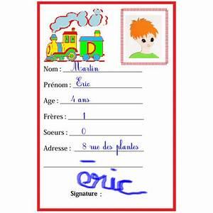 Carte D Identité Provisoire : carte d 39 identit pour les enfants fabriquer une carte d 39 identit t te modeler ~ Medecine-chirurgie-esthetiques.com Avis de Voitures