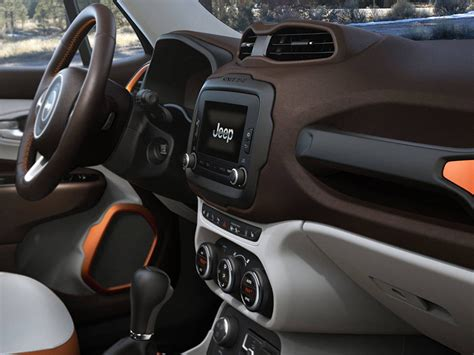 jeep renegade orange interior jeep renegade 2015 interior better concept than the newer