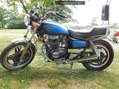 1982 Honda Cm450 Custom Motorcycle