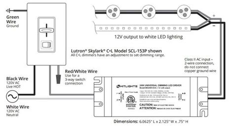 Dimming Led Driver Wiring Diagram Schematic
