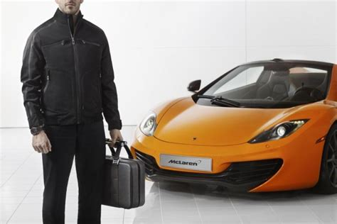 Mclaren Announces Accessories Inspired By Its Mp4- 12c