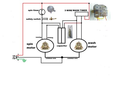 washing machine timer wiring diagram wiring diagram