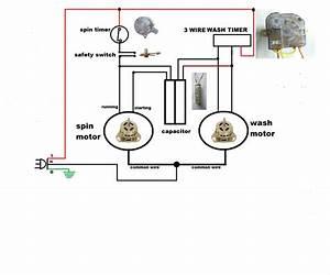 Washing Machine Timer Wiring Diagram