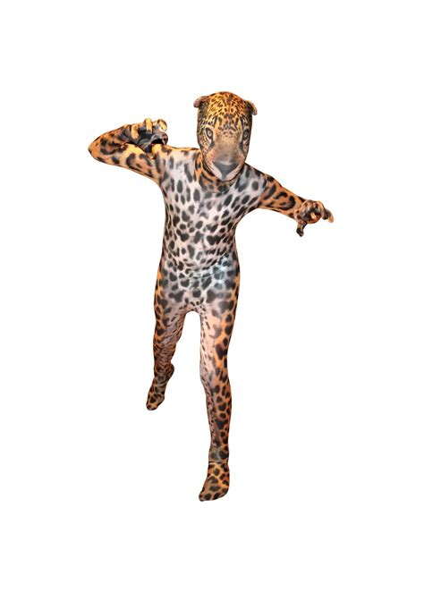 Animal Planet Jaguar Morphsuit Kids Costume  General Category