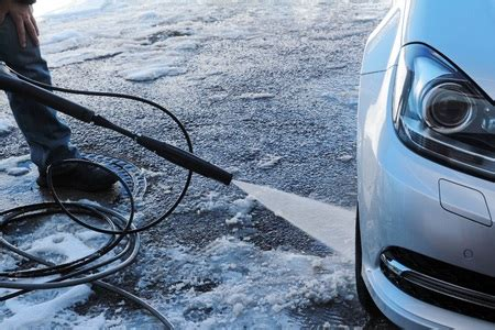 Washing Your Car In Winter Months  Sponge Outlet