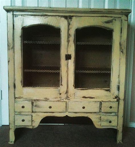 vintage linen cabinet primitive pie safe plans woodworking projects plans 3240