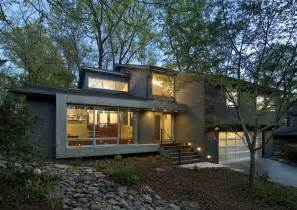 split level designs contemporary split level house renovation led lights decor archinspire