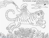 Coloring Magnolia Henri Pages Matisse Fantastic Getcolorings Pa Getdrawings sketch template