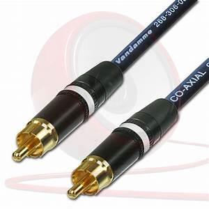 Spdif Digital Audio Video Coaxial Cable Rca To Rca Van