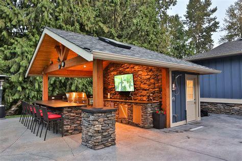 creating   outdoor kitchen