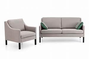 Sofa Sessel Kombination : sofa mit sessel cool vintage sandra sofa u sessel von ~ Michelbontemps.com Haus und Dekorationen