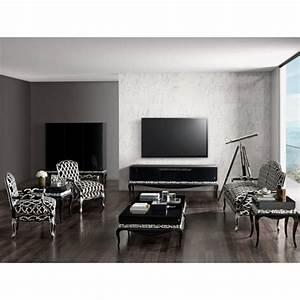 meuble de salon de luxe composee d39un meuble tv canape With tapis de gym avec canapé design luxe italien