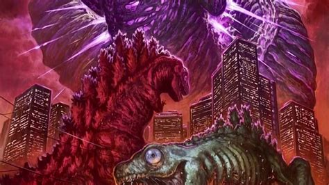 Shin Godzilla Evolution