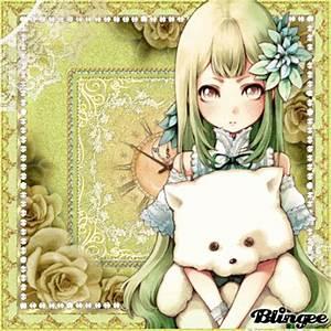 Anime Girl * TeddyBear* ♥ (*+ original vikialele blingee ...