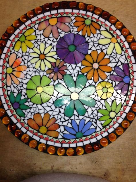 lazy susan designs 17 best images about mosaic lazy susan on