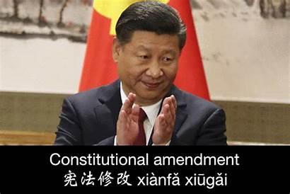 Xi Jinping China Rule Term Abolish Limits