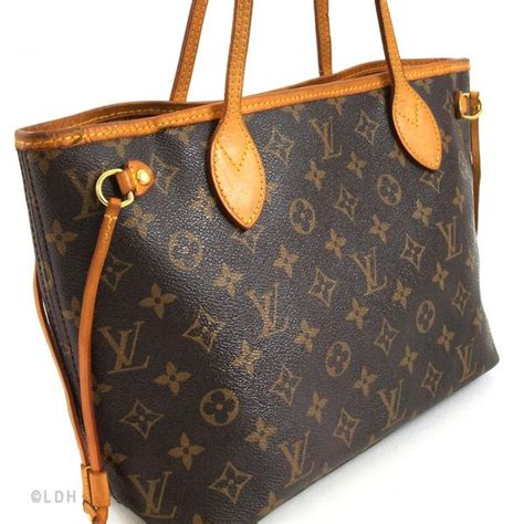 louis vuitton neverfull pm authentic pre owned  luxedh