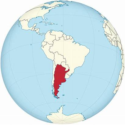 Argentina Globe America South Svg Centered Mapping