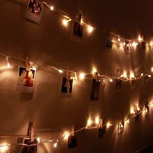 Diy Polaroid Wall With String Lights Simple Stylings Now