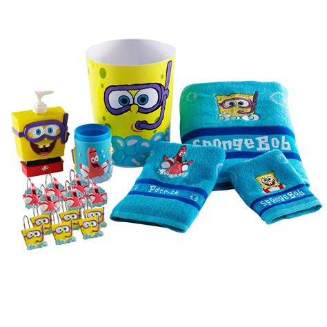 Spongebob Bathroom Decorations Ideas by Spongebob Squarepants Bath Towel