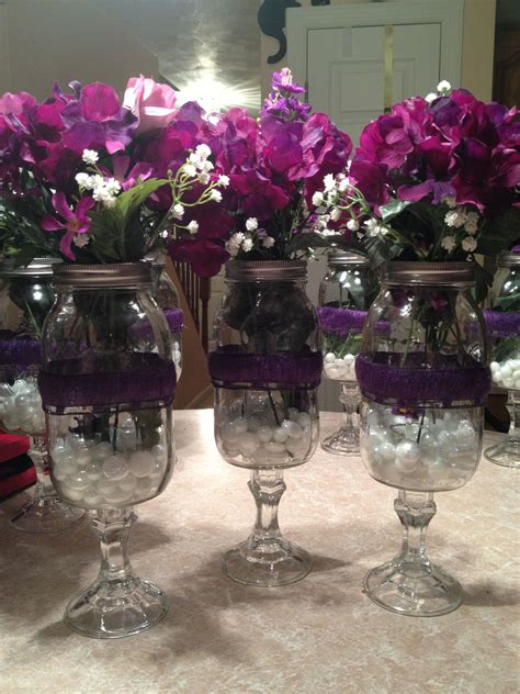 Flower Vases For Centerpieces by Quot Wine Glass Quot Flower Vases Centerpieces For My
