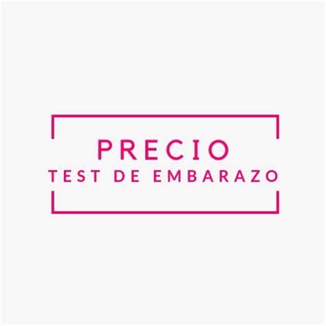 test costo test de embarazo precio 191 cu 225 nto cuesta o debiera costar