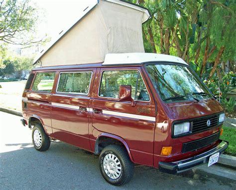 volkswagen westfalia syncro 1987 vw vanagon syncro westfalia cer auction in los