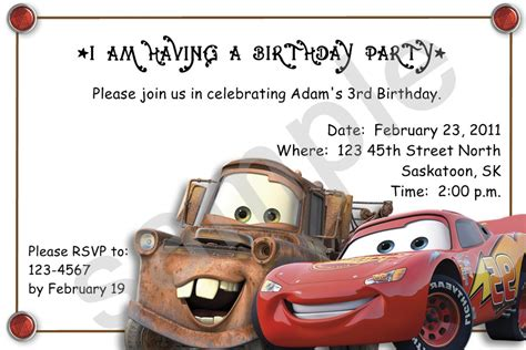 Decoration Ideas Lightning Mcqueen Birthday Party