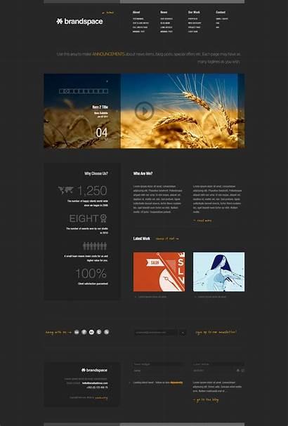 Website Template Business Portfolio Templates Minimal Web