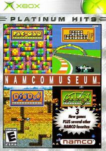 Namco Museum Box Shot For Xbox GameFAQs