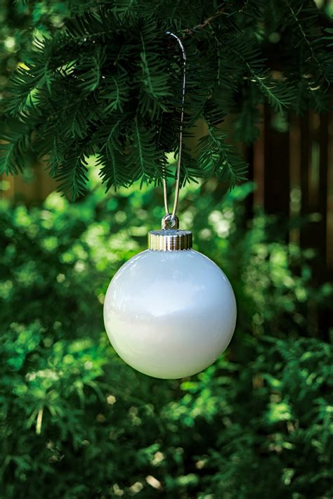 outdoor christmas globe lights illuminating white outdoor led pulsing 5 quot globe battery