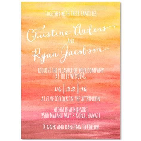 Sunset  Ee  Wedding Ee    Ee  Invitations Ee   Sunset By Foreverfia Es On