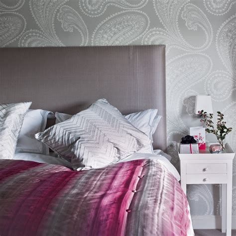 secret ice pink  grey bedroom ideas