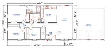 floor plans ranch birchwood modular ranch house plans