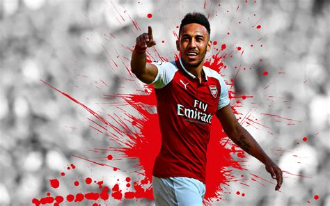 Pierre-Emerick Aubameyang 4k Ultra HD Wallpaper ...