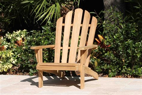 teak adirondack chair oceanic teak furniture