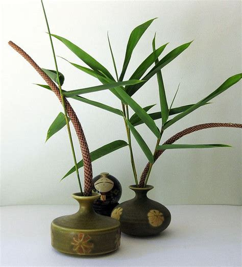 Flower Arranging Vases by Vintage Japanese Vases Japanese Aesthetic Ikebana