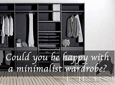 How to get a minimal wardrobe and shop less