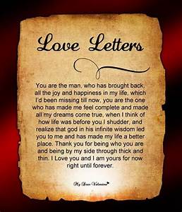 25 best ideas about romantic letters for him on pinterest With love letter gift ideas