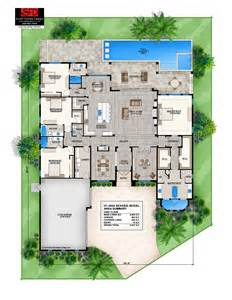 One Floor Modern House Plans Ideas Photo Gallery by 2 Story Coastal Contemporary House Plan 239 431 1818