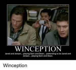 Supernatural Sam and Dean Memes