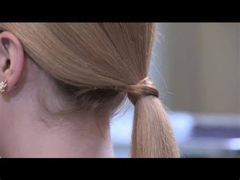 What To Do With Hair by How To Do A Ponytail For Hair Hairstyle Trends