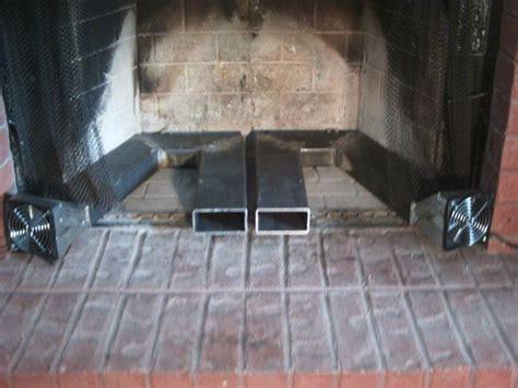 custom twin blower fireplace heat exchanger   heat