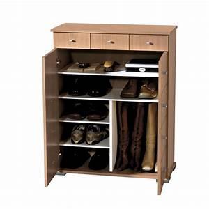 armoire pour chaussure With meuble de rangement pour chaussures