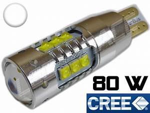 Ampoule Led Voiture : ampoule led t15 w16w voiture auto moto quad scooter ~ Medecine-chirurgie-esthetiques.com Avis de Voitures