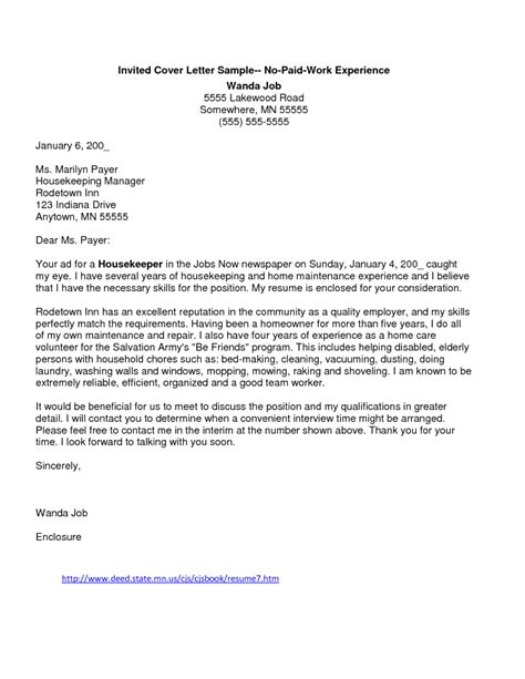 sle cover letter for high school student with no work