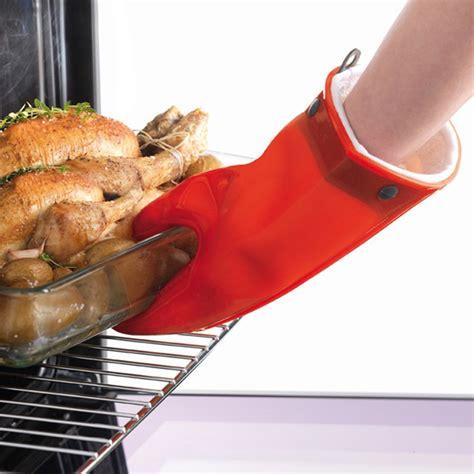 gant cuisine silicone gant de cuisine silicone et coton mastrad