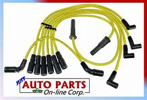 Spark Plug Wire Blazer Made In Usa S10 Jimmy Savana