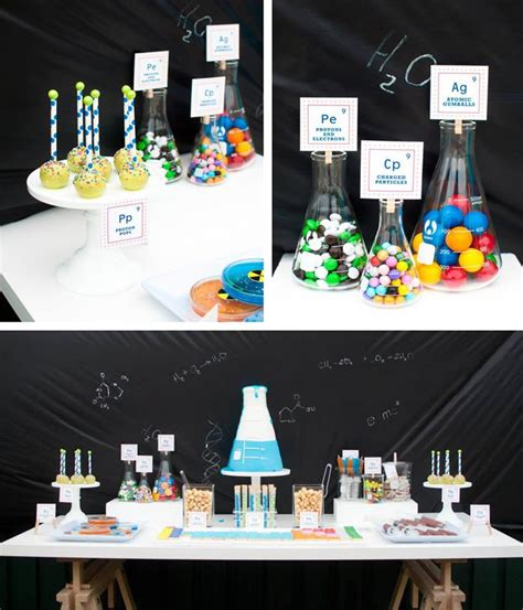 karas party ideas science themed birthday party
